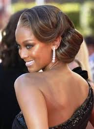 pin up hairstyles for black women with long hair wedding updos for black brides women medium haircut