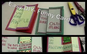diy funny birthday cards for friends u0026 family youtube