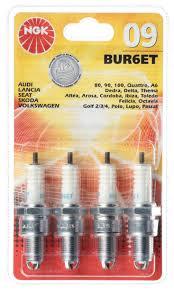 ngk 09 bur6et spark plug 4 pieces audi lancia seat skoda felicia