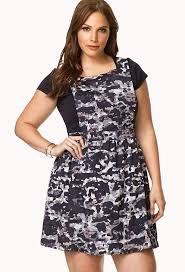forever 21 plus size navy grey desert camo cool overall dress 3x