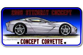 pontiac corvette concept 2009 corvette stingray concept