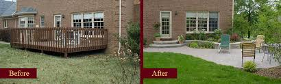 Backyard Renovations Before And After Garden Design Before And After Interior Design