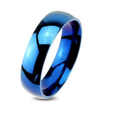 stainless steel wedding ring sets his and hers 925 sterling silver blue sapphire stainless steel
