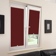 x pvc blackout burgundy perfect fit roller blind direct blinds