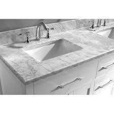 Bathroom Vanities Usa by Usa Caroline 60 U2033 Md 2060 Double Sink Bathroom Vanity