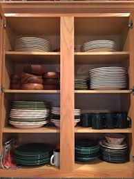 remove kitchen cabinet doors for open shelving how to tweak your cabinetry for better organization 7 tips