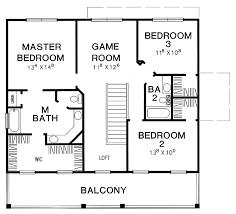 3 Bedroom Cabin Plans Three Bedroom Plan