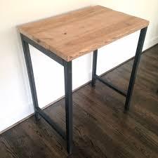 Industrial Standing Desk by The Monterey Reclaimed Wood Standing Desk