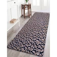 Thick Bathroom Rugs Land Print Flannel Skidproof Bathroom Rug In Dusty Grey Thick
