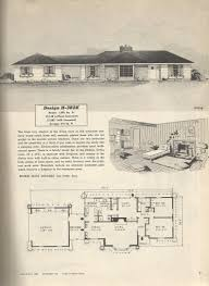 Home Plans Ranch Style 1950s Ranch Style Home Plans House Design Vintage Luxihome