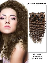 curly hair extensions clip in inch 8 ash brown clip in hair extensions curly 7 pieces