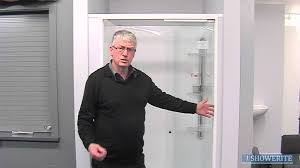 trident sliding shower screens youtube