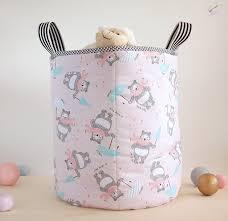 babyzimmer rosa grau aufbewahrungsboxen aufbewahrungskorb kinderzimmer rosa grau