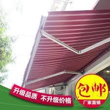 Foldable Awning Retractable Awning Sunshade Awning Balcony Shelter Shop Awning