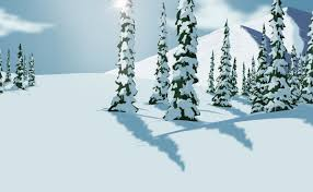 snowy trees by 1600 on newgrounds