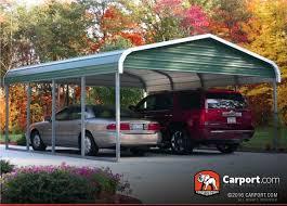 12x24 Carport Single Car Carport 12 U0027 X 26 U0027 With Regular Roof Single Car Carports