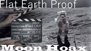 Flag On The Moon Conspiracy Flat Earth Proof The Moon Landings Were A Hoax Youtube