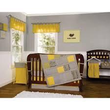 Gray And Yellow Crib Bedding 3 Yellow Crib Bedding Set From Buy Buy Baby