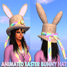 easter bunny hat second marketplace animated easter bunny hat