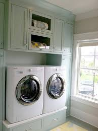 Storage Cabinets For Laundry Room by Pastel Blue Laundry Room Storage Cabinets Surround The Double