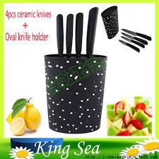 online get cheap kitchen knives set stand aliexpress com