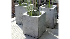 large concrete planter concrete planters speckled concrete planter small concrete garden