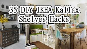 Ikea Expedit 5x1 by 35 Diy Ikea Kallax Shelves Hacks You Could Try Youtube