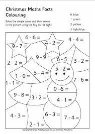 christmas maths colouring 1 oszt pinterest christmas math