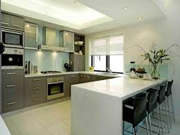 kitchen modern u shaped kitchen designs with grey contemporary