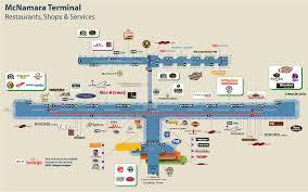 Chicago O Hare Terminal Map by Detroit Resturants Detroit Shops And Services Detroitmetrolimo Com