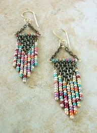 Beaded Chandelier Etsy How To Make Chandelier Earrings With Beads How To Make Teardrop