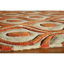 top 46 class ikea woven rug hampen burnt orange and brown area
