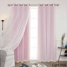 light pink ruffle curtains awesome darkening window curtain elegant decor ruffled ideas pics