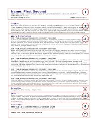how to create cv or resume chef s cv resume template anatomy