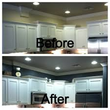 behr dark ash above the kitchen cabinets before and after my