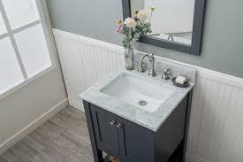 Open Shelf Bathroom Vanity Grey Shaker Open Shelf Bathroom Vanities Assembled