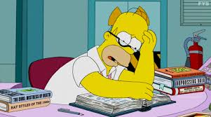 homer simpson stressed homer simpson gif find share on giphy