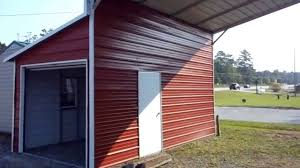 cool sheds carport and steel structure video youtube