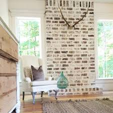 excellent painting brick white 113 painted white brick fireplace