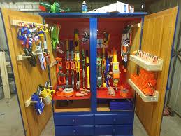 Ready aim tidy 8 ways to store Nerf guns