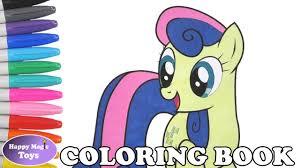 mlp bon bon coloring book pages my little pony sweetie drops