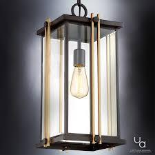 craftsman outdoor pendant light uql1074 craftsman outdoor pendant light 20 h x 10 w estate bronze