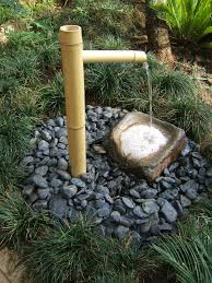 zen bamboo water feature garden fountains fountain and gardens