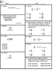 fractions 3nf 4nf 5nf 6rpa all fraction standards common core