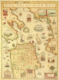 Maps San Francisco by San Francisco Bay Map Wooden Jigsaw Puzzle Liberty Puzzles