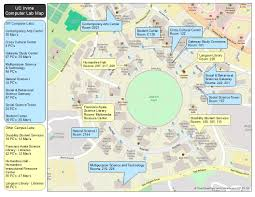 University Of Wisconsin Campus Map by Campus Computer Lab Maps U2014 Office Of Information Technology