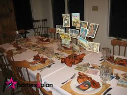 travel themed table decorations tablescape travel theme party decorations parties2plan