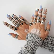 all fingers rings images Pretty rings collection rings on all fingers pinterest rings jpg