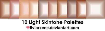 vector skin tone tutorial skin colors on palettes deviantart