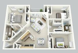 floor plans 3 bedroom 2 bath 3d 3 bedroom house plans three bedroom 3 bedroom 2 bath sq ft 3